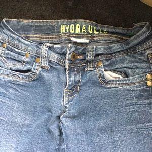 Hydraulic jeans size 3/4